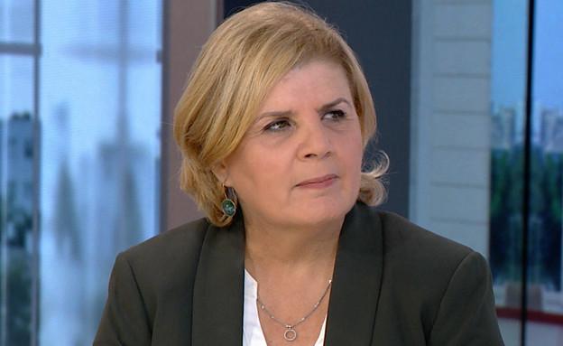 """שרת הכלכלה אורנה ברביבאי (צילום: מתוך """"חדשות הבוקר"""" , קשת 12)"""