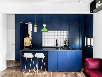 בתים מבפנים 2021, עיצוב אמיר נבון וסטודיו בי6 - 2 (צילום: איתי בנית)