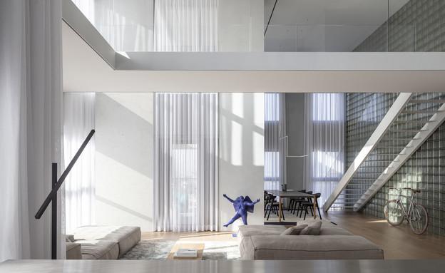 בתים מבפנים 2021, עיצוב טל גולדשמיט פיש - 2 (צילום: עמית גרון)