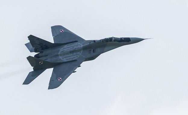 מטוס הקרב (צילום: Steve Thorne, getty images)