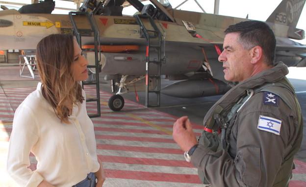 שנה בחיל האוויר - יונית לוי בפרויקט מיוחד (צילום: N12)