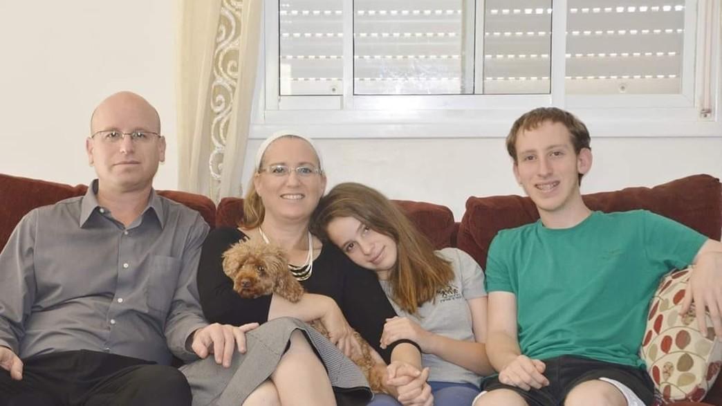 משפחת בראון (צילום: באדיבות המשפחה)