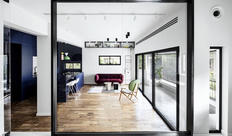 בתים מבפנים 2021, עיצוב אמיר נבון וסטודיו בי6 - 3 (צילום: איתי בנית)