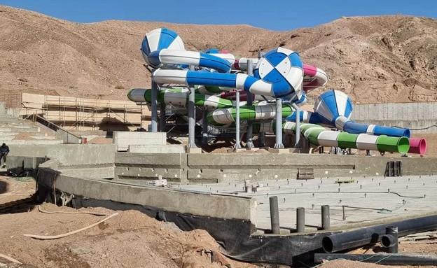 פארק מים חדש באילת (צילום: לימור חברוני)
