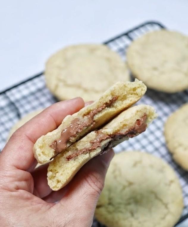 עוגיות קרמוגית מבפנים
