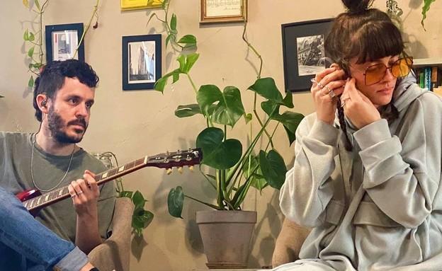 נגה ארז ואורי רוסו (צילום: אינסטגרם nogaerez)