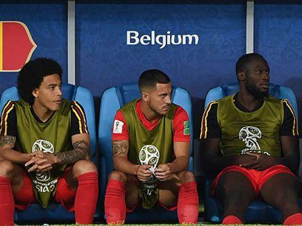 3 שחקנים ליציע (getty) (צילום: ספורט 5)