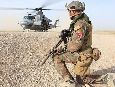 לוחם בשטח (צילום: Kyle McNally/Photoquest, GettyImages)