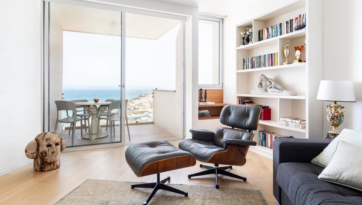דירה במלון בהרצליה, עיצוב הילה מוטיל