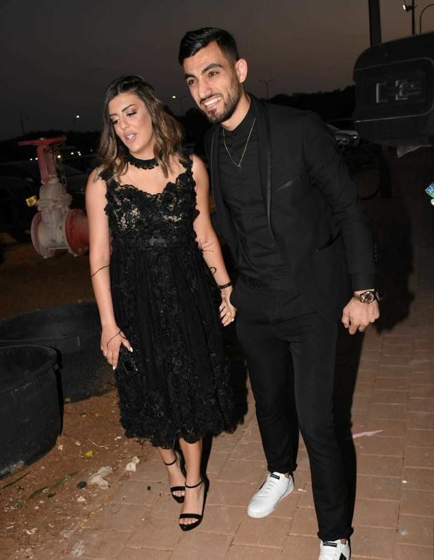 לואי עלי ואשתו (צילום: פרטי, יחסי ציבור)