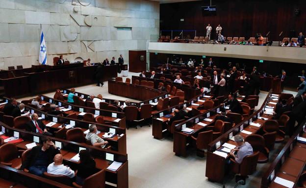 מליאת הכנסת  (צילום: יונתן סינדל, פלאש 90)