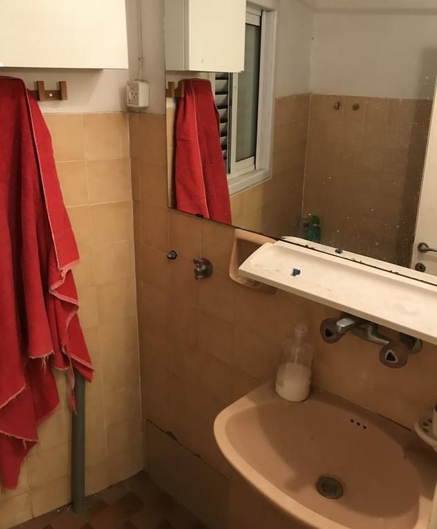 דירה בתל אביב, עיצוב חן שדמי, ג, לפני שיפוץ