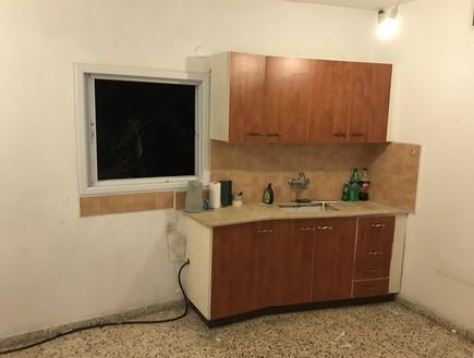 דירה בתל אביב, עיצוב חן שדמי, לפני שיפוץ (צילום: חן שדמי)