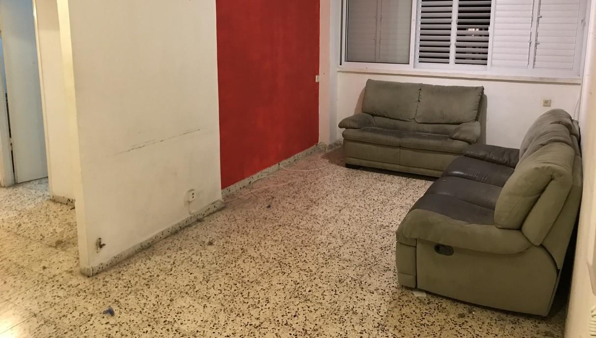 דירה בתל אביב, עיצוב חן שדמי, לפני שיפוץ