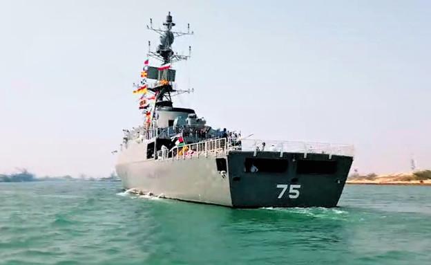 אחת הספינות  (צילום: Darya Press)
