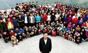 האיש בעל המשפחה הגדולה בעולם הלך לעולמו (צילום: twitter)