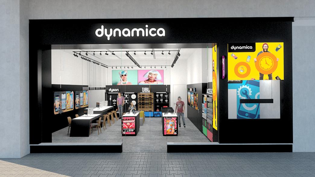 הדמיה חנות דינמיקה (צילום: דינמיקה)