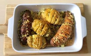 מניפות תפוחי אדמה ובטטה (צילום: עז תלם)