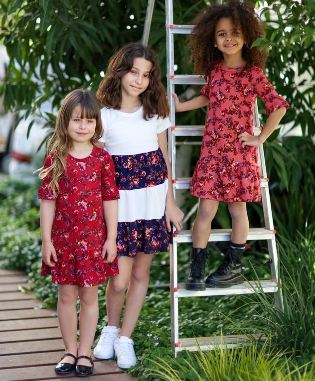 שמלות בנות בסלקשיין מבצע 8 ב 100 שקלים