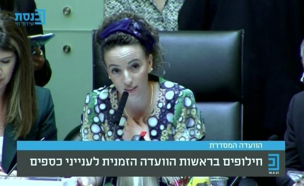 הועדה המסדרת, חילופים בראשות הוועדה הזמנית לעינייני כספים (צילום: ערוץ הכנסת)