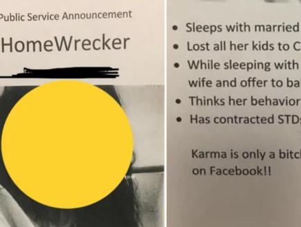 ויראלי: חשפה את המאהבת של בעלה והטריפה את הרשת