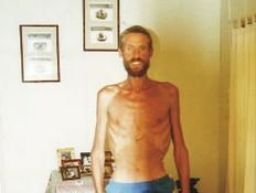 ריקי מגי לאחר שנמצא במדבר (צילום: twitter)