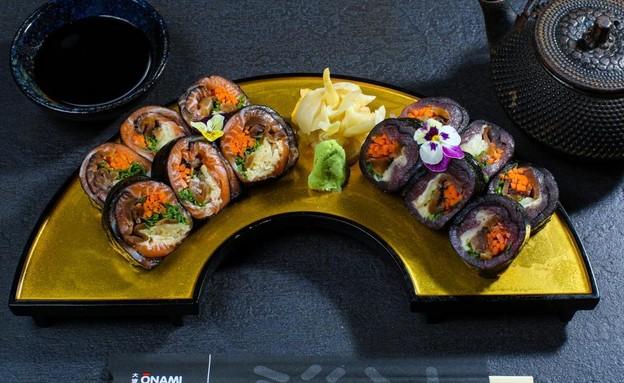 מנות סושי אהובות - אונאמי (צילום: יוסי אלטרמן)