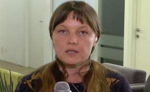 """אולה קרבצ'נקו בראיון מיוחד טוענת לחפותה (צילום: מתוך """"חדשות הבוקר"""" , קשת 12)"""