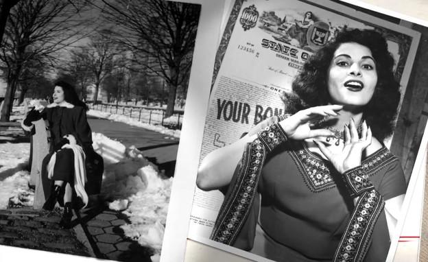 """שושנה דמארי במסעות לחו""""ל והסיקור התקשורתי  (צילום: חדשות 12)"""