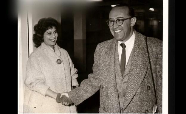שושנה דמארי ומשה וילנסקי (צילום: חדשות 12)