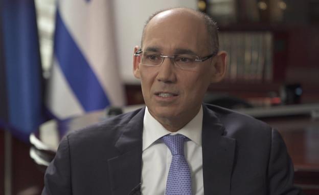 אמיר ירון, נגיד בנק ישראל (צילום: החדשות 12)