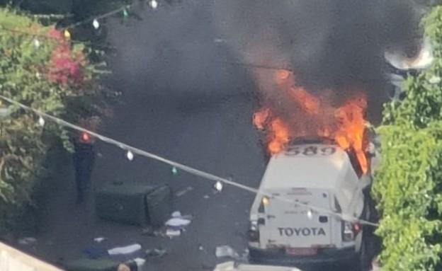 עימותים בדיר אל אסד: שוטר ואזרח נפצעו