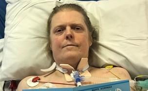 ג'ייסון קלק, חולה קורונה בריטי שמת אחרי 14 חודשים (צילום: סקיי ניוז)
