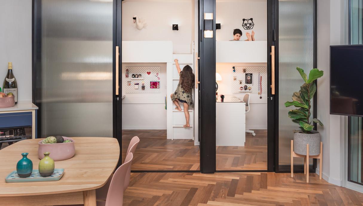 דירה בתל אביב, עיצוב אלינור גוילי - 9