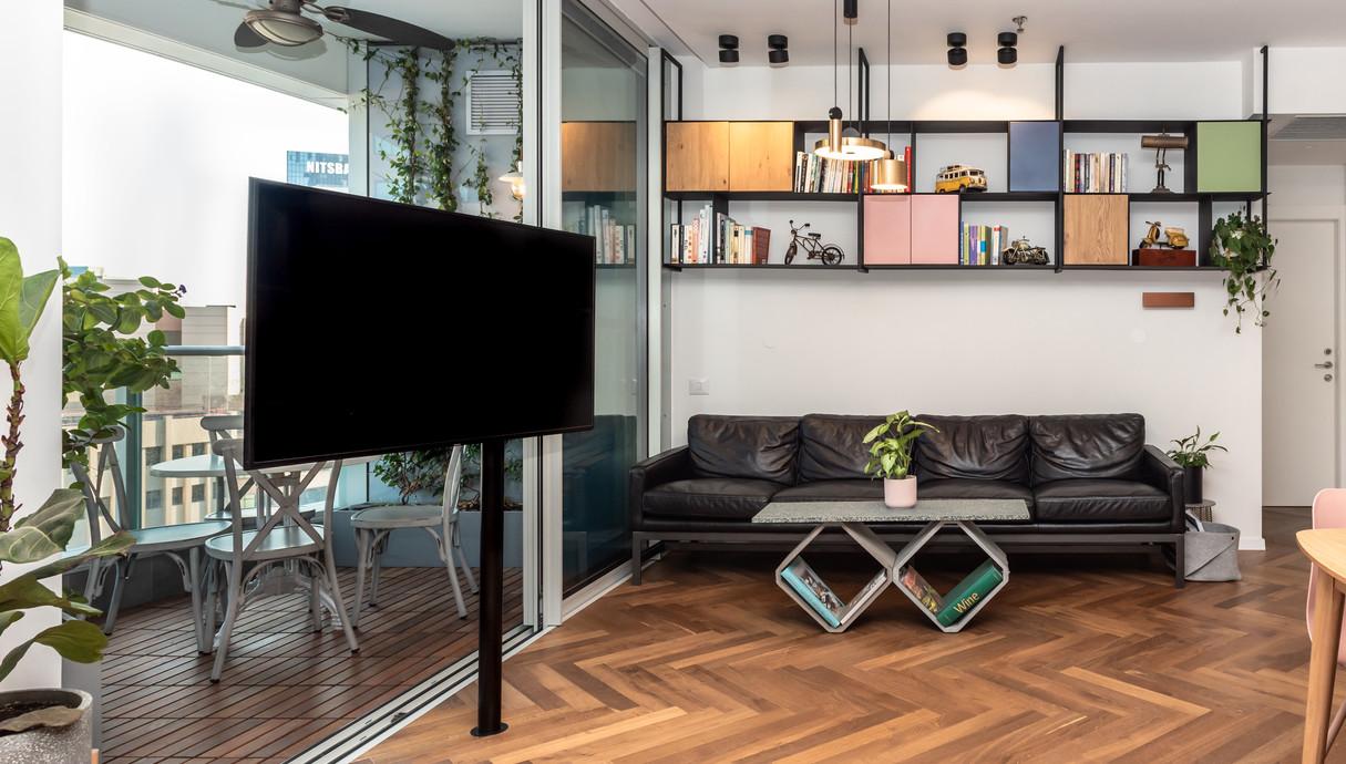 דירה בתל אביב, עיצוב אלינור גוילי - 1