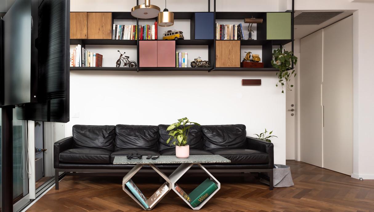 דירה בתל אביב, עיצוב אלינור גוילי - 3