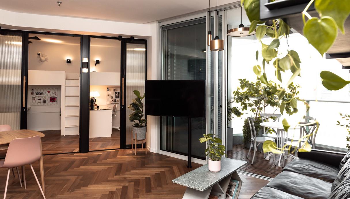 דירה בתל אביב, עיצוב אלינור גוילי - 4