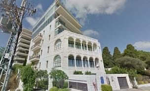 יפה נוף 34 חיפה (צילום: google earth)