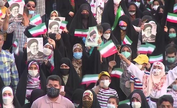 נשיא אירן הנבחר (צילום: חדשות 12)