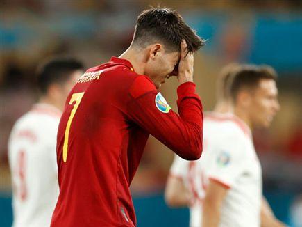 ספרד חייבת לנצח. מוראטה (GETTY) (צילום: ספורט 5)
