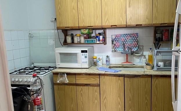 שיפוץ מטבח אופיר ועינת - 5 (צילום: אופיר צוקרן)