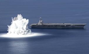 הניסוי (צילום: U.S. Navy, Youtube)