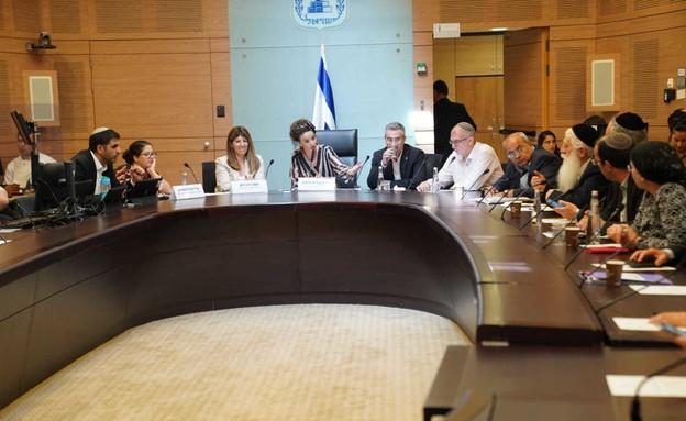 דיון הוועדה המסדרת בכנסת (צילום: נועם מושקוביץ, דוברות הכנסת)