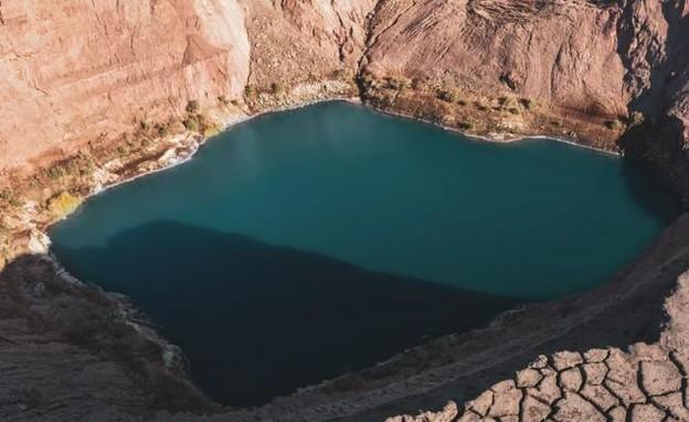 האגם הנעלם (צילום: גל טוויג)