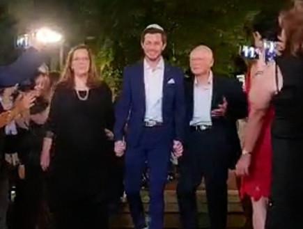 גלעד שליט מתחתן (צילום: אביב וטלי צילום ועריכת וידאו)