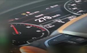 """נערים תיעדו את עצמם נוהגים ב-280 קמ""""ש (צילום: מתוך """"חי בלילה"""", קשת 12)"""