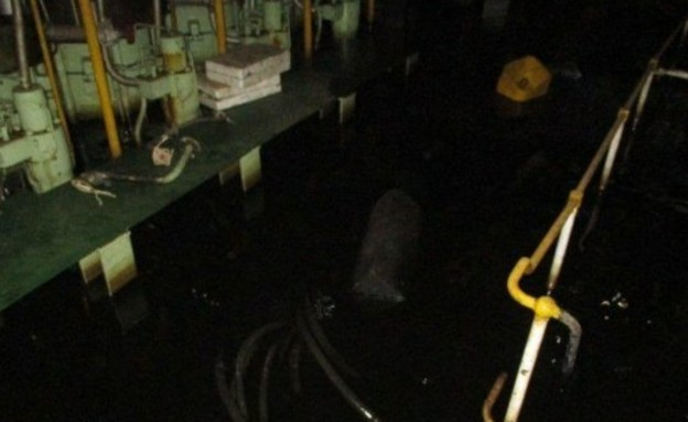 המבצעים החשאיים בים מול אירן (צילום: הטלוויזיה האירנית)