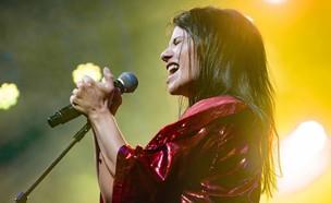 נינט טייב במופע להקה חשמלי  (צילום: אלון לוין, יחסי ציבור)