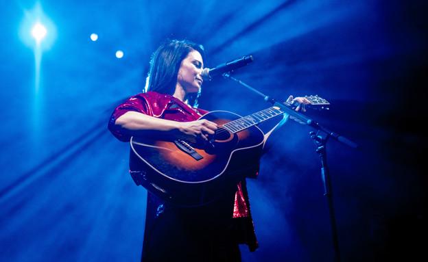 נינט טייב במופע להקה חשמלי  (צילום: ליאור כתר, יחסי ציבור)