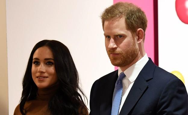 הנסיך הארי, מייגן מרקל (צילום: DANIEL LEAL-OLIVAS/AFP, Getty images)